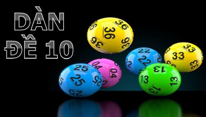 Dàn đề 10 số là bao gồm 10 số trong dãy số từ 00 đến 99