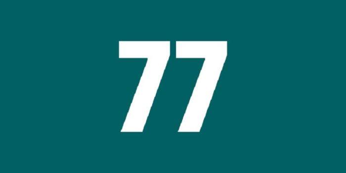 Chúng ta tách ý nghĩa của số kép 77 có nghĩa là sẽ thất bại hai lần